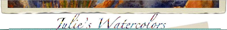 Watercolors by Julie H. Sooley